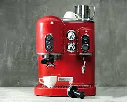 kitchenaid coffee makers red kitchen aid espresso machines personal coffee maker kitchenaid kcm0402er 4 cup personal coffee maker empire red
