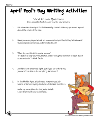 fools day short essay questions woo jr kids activities