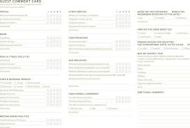 25 Comment Card Template Free Download