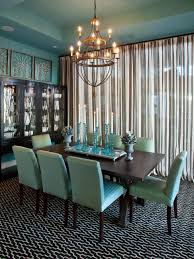 Teal Dining Room Chairs Design Trend Decorating With Blue Color Palette And Schemes For