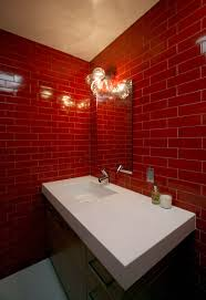 red glass bathroom accessories. I Love Glass Tile For The Home Mid Century Red Bathroom Accessories  And White Red Glass Bathroom Accessories I