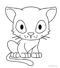 Pete The Cat Coloring Page Buttons Coloring Printable