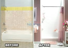 replace tub with shower turning bathtub into walk best