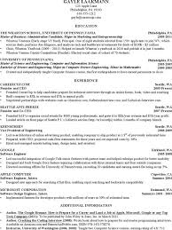 Computer Science Student Resume Great Examples A Resume Clarkson Beauteous Career Cup Resume