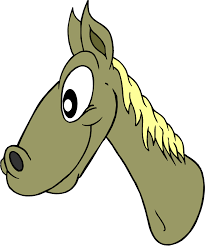 Image result for horse head clip art
