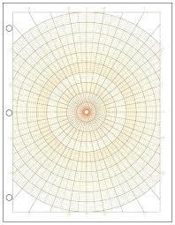 Polar Coordinate Paper Polar Graph Paper Polar Graph Paper