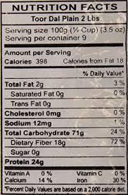 amazon y world toor dal plain split pigeon peas 2 pound pack of 12 grocery gourmet food