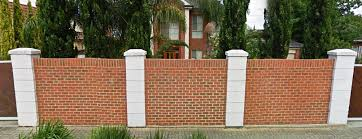Small Picture Fence of brick Fence design elegant and beautiful House Design Ideas