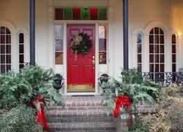 red front door white house. Exciting White House Applying Red Entrance Door With Front Porch 8