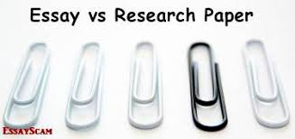 the difference between an essay and a research paper