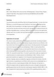 buss msa essay buss the business environment buss1002 msa2 essay