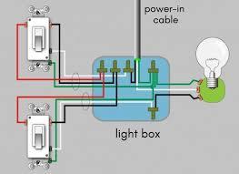 wire a 3 way switch wiring diagram 5 Way Switch Light Wiring Diagram 4-Way Electrical Switch Wiring Diagram