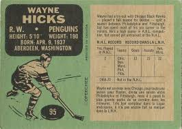 Image result for wayne hicks hockey