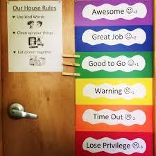 Color Behavior Chart For Preschool Good Behavior Color Chart For Kids Google Search