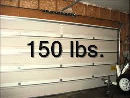12 foot wide garage doorGarage Door Fundamentals Torsion Spring Counterbalance  YouTube