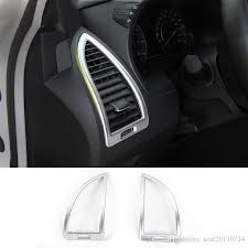 car dashboard air conditioning vent decoration covers rings fit for nissan patrol car interior accessories car seat covers and floor mats cool