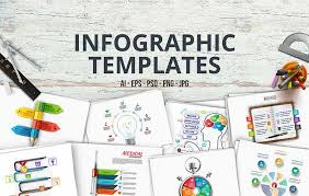 25 Best Free Infographic Templates To Download Graphiceat