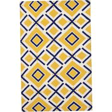blue and yellow kitchen rugs