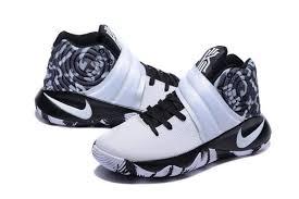 nike basketball shoes for girls black. nike kyrie 2 black white basketball shoes-3 shoes for girls