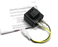 metric motorcycle 2 pin led turn signal flasher relay Led Turn Signal Flasher Relay Wiring 2 pin flasher relay Electronic Flasher for LED Turn Signals