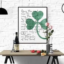irish themed wall art