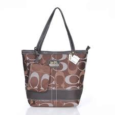 Discount Coach Legacy C Monogram Medium Coffee Totes Eqx Outlet zIFJN