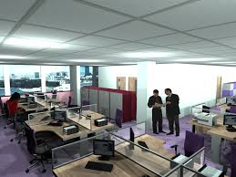 office design space. Realistic Render Of Redesigned Office Design Space U