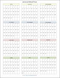 School Calendar Templates Mailbag Monday More Academic Calendars 2019 2020
