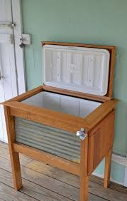 patio cooler stand project 2 decorative patio coolers decorative patio coolers diy wooden