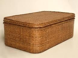 elegant wicker trunk coffee table with wicker trunk coffee table bobreuterstl