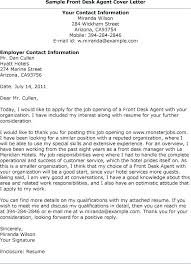 Medical Receptionist Cover Letter Example Of A Cover Letter For A Receptionist Cover Letter