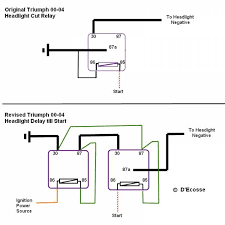 motorcycle headlight relay wiring diagram motorcycle lost th headlight wiring stuff triumph forum triumph rat on motorcycle headlight relay wiring diagram