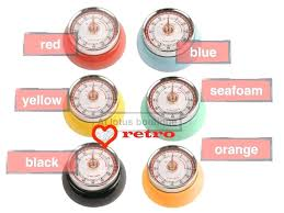 retro kitchen timer vintage