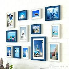 wall picture frames set style creative wall hanging photo frame set wooden wall mounted photo frame set