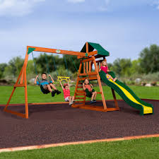 interesting cedar swing for your outdoor decor captivating red cedar swing set with slide and