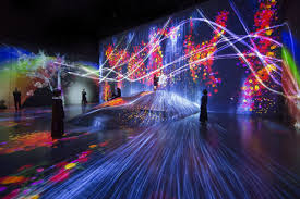 Tokyo Museum Of Light The Worlds First Digital Art Museum Opens In Tokyo Design