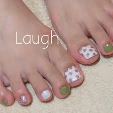 夏旅行海女子会フット Laugh Nailのネイルデザインno2461053