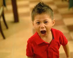 Hasil gambar untuk gambar anak teriak