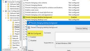 Desktop Background Group Policy is not ...