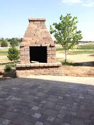 admirable fire brick outdoor fireplace ddedfeeeefadc