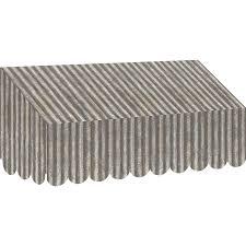 tcr77180 corrugated metal awning image