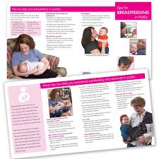 baby pamphlets breastfeeding in public pamphlet childbirth graphics