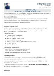 Drafting Resume Examples Drafting Cover Letter Cad Drafting Resume Sample Drafter Resume