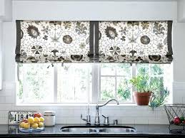 Kitchen Curtain Patterns Beauteous Frightening Simple Kitchen Curtains Diy Kitchen Window Coverings