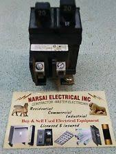 siemens electrical circuit breakers fuse boxes 20a ite pushmatic p2020 twin duplex breaker 20 amp
