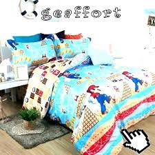 super bedding full size set duvet cover hot mario supe