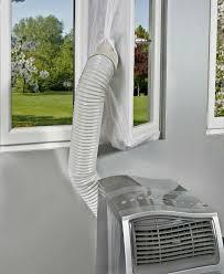 4m Airlock Tragbar Mobile Klimaanlage Fenster Abdichtung Hot Air