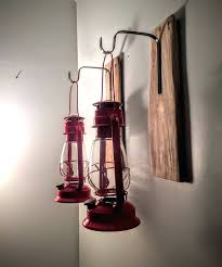 sconce rustic lanterns 2 sconce set reclaimed pallet wood wrought iron hooks rustic boy rustic