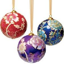 Vintage Christmas Blown Glass Ball Ornament Set  Balsam Hill Christmas Ornament Sets