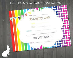 Birthday Party Invitation Template Word Free Childrens Party Invitation Template Free Birthday Party Invitation